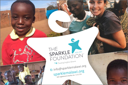 The PHD Design Team support Sparkle Malawi